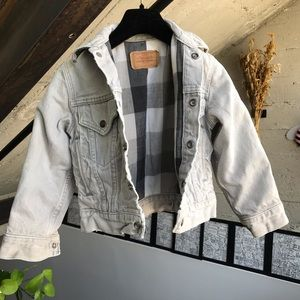 1980's Levis Jacket with Flannel Lining